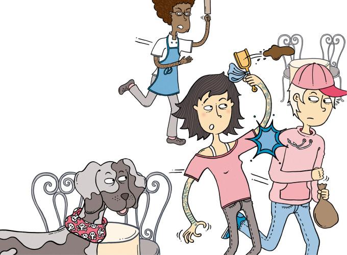 Bodil och hundbajset –Nypon förlag