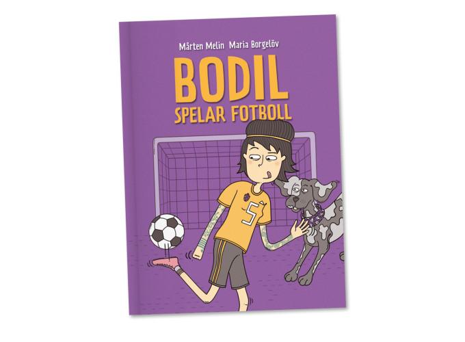 Bodil spelar fotboll –Nypon förlag